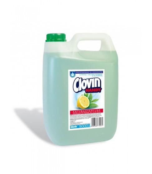 Mydło Clovin Handy Eco cytryna z zieloną herbatą 5 l