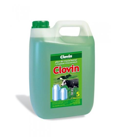 Płyn do mycia konwi mleczarskich Clovin 5 l