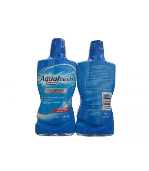 Płyn do płukania ust Aquafresh Fresh Mint 500 ml