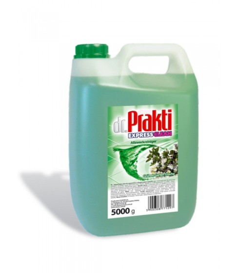 Uniwersalny płyn do mycia Dr.Prakti zielony ogród 5 l