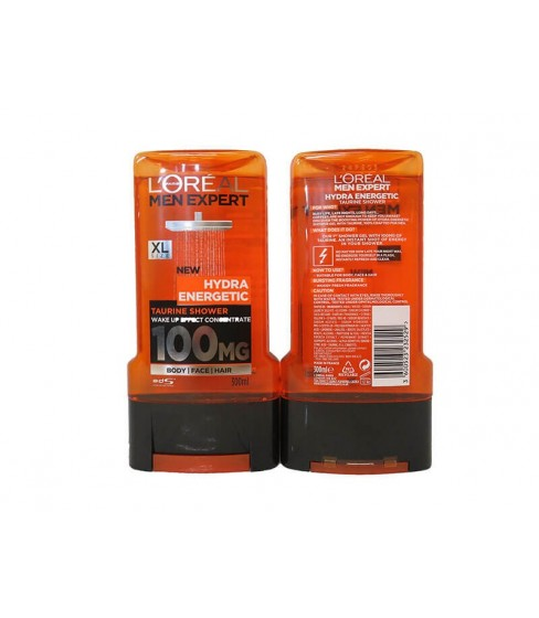 Żel pod prysznic L'Oreal Men Hydra Energetic 300 ml