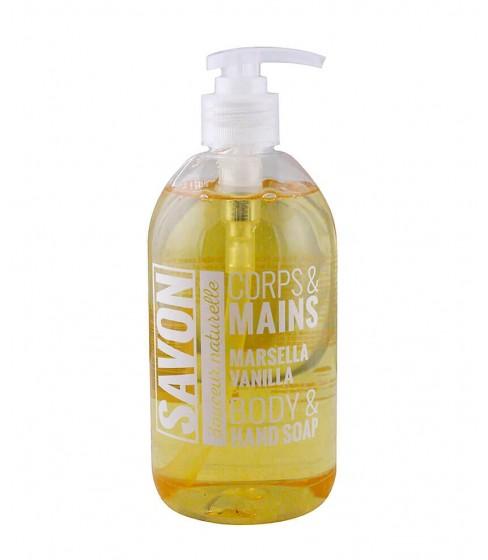 Mydło w płynie Savon Corps&Mains Marsella Vanilla 500 ml