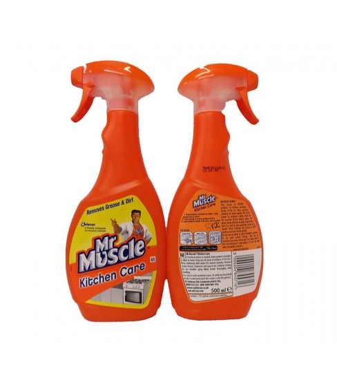 Spray do czyszczenia kuchni Mr Muscle Kitchen Care 500 ml