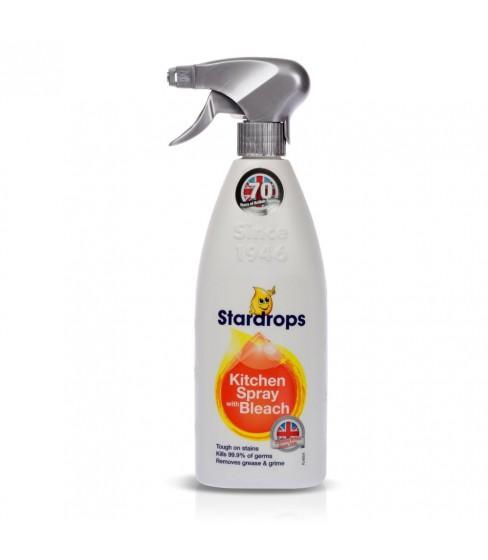 Spray Stardrops Kuchnia z wybielaczem 750 ml