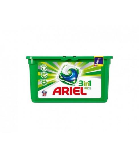 Kapsułki do prania Ariel 3in1 Regular 38 sztuk