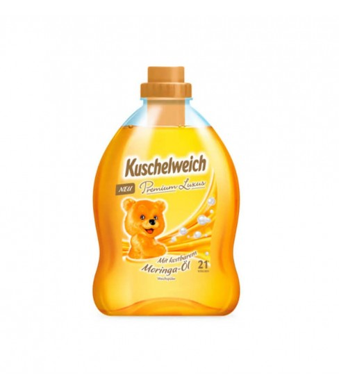 Płyn do płukania Kuschelweich Premium Luxus Moringa-Öl 750 ml - 21 WL