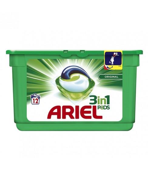 Kapsułki do prania Ariel 3w1 Regular 12 sztuk
