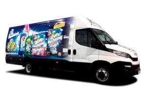 Iveco - transport środków czystosci