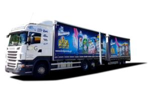 Scania - dostawy chemii gospodarczej
