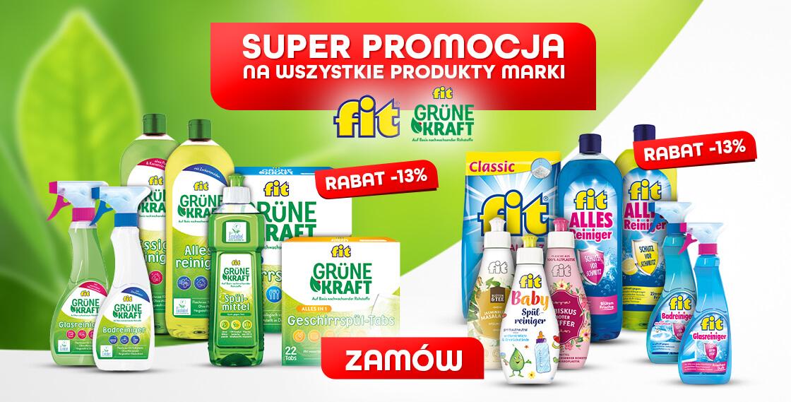 Promocja na wszystkie produkty FIT