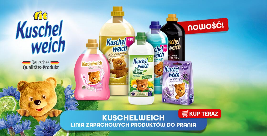 NOWOŚĆ! Linia zapachowych produktów do prania Kuschelweich