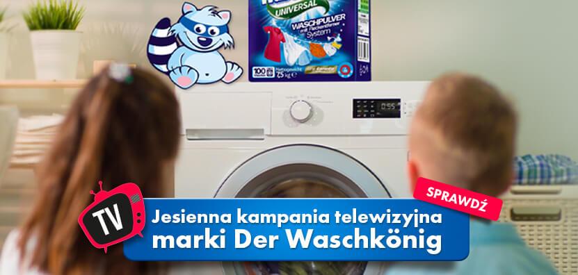 Jesienna kampania TV Der Waschkönig